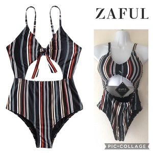 🔥Striped Swimsuit